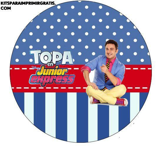 Etiquetas de Topa Junior Express