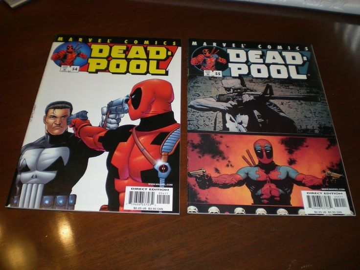 Deadpool 54, 55, (2001), Punisher, Marvel, Movie Coming Soon C13