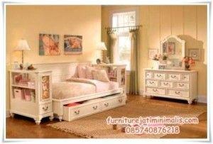 set tempat tidur anak klasik