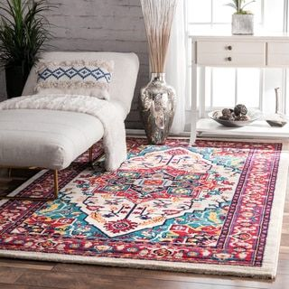 Shop for nuLOOM Vibrant Floral Persian Multi Rug (4'1 x 6'). Get free shipping at Overstock.com - Your Online Home Decor Outlet Store! Get 5% in rewards with Club O!