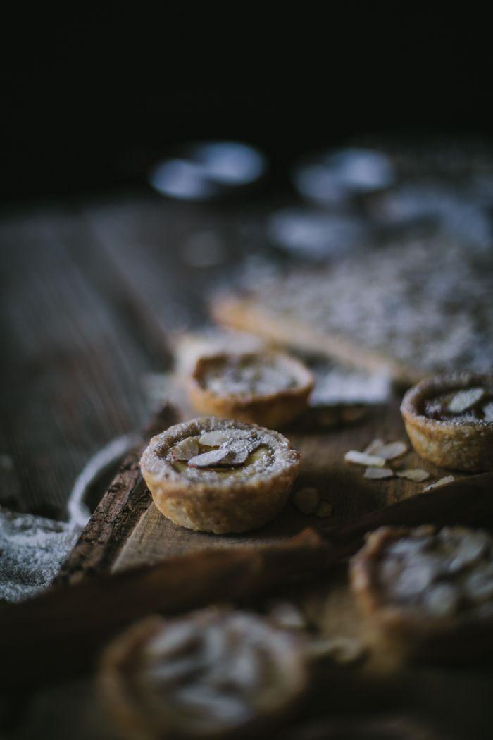 Torta Della Nonna—Italian Almond Custard tarts
