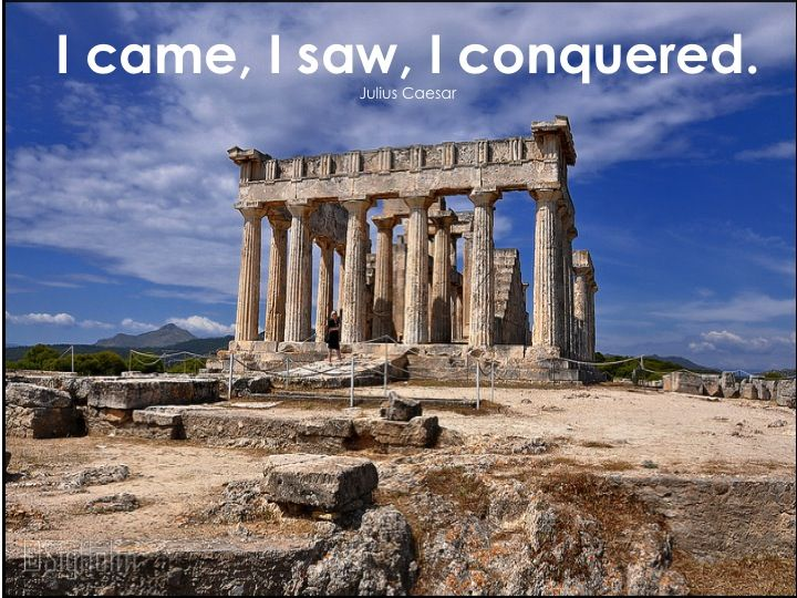Conquer every bit of Experience...visit Aegina's island Ancient Temple of Afea