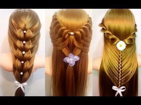 Coiffures faciles pour les cheveux moyens - 10 coiffures rapides pour l'école #EasyQuickHairstyles #QuickHairstyleTutorials #Easyhairstyles