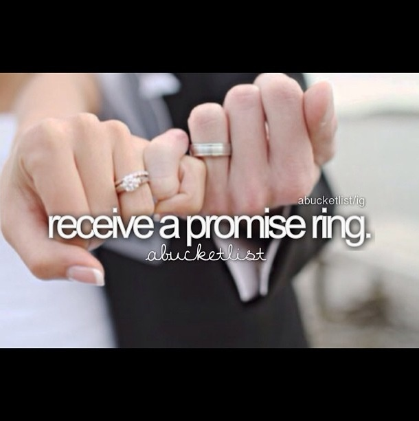 give promise ring properly