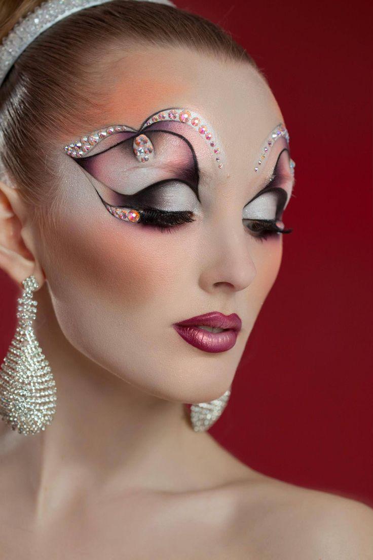 макияж картинки на танцы