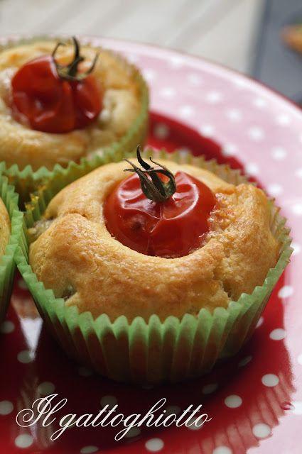 Muffins salati mediterranei _ il gattoghiotto