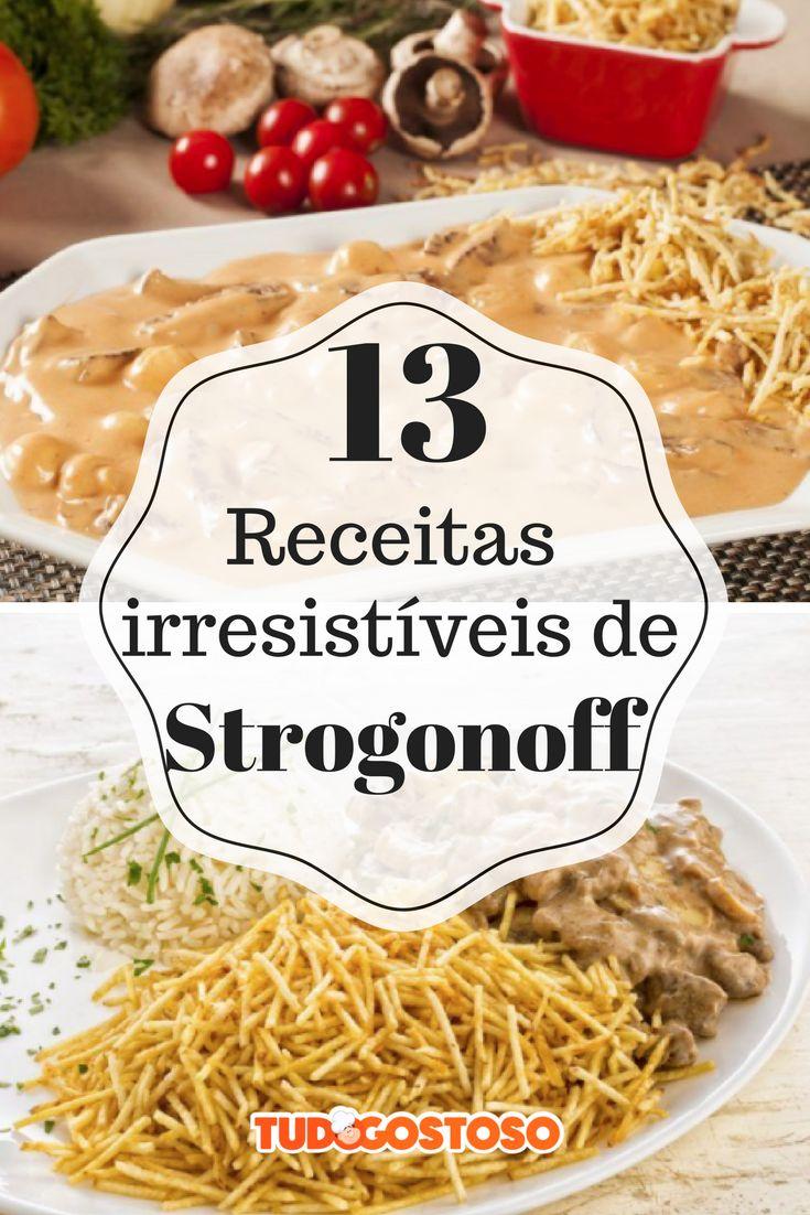 Tem de frango, de carne, de abóbora e até de salsinha: 13 receitas de strogonoff para agradar a todos!