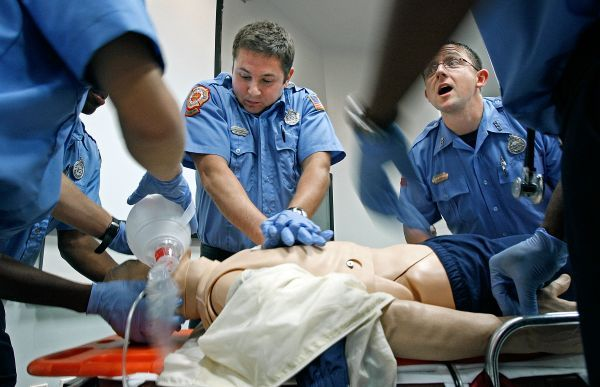 Working as an EMT or Paramedic is not an easy job!