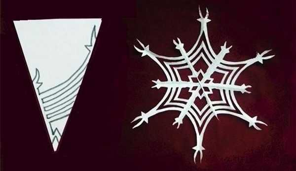 http://www.decor4all.com/christmas-crafts-12-gorgeous-paper-snowflake-designs/20209/