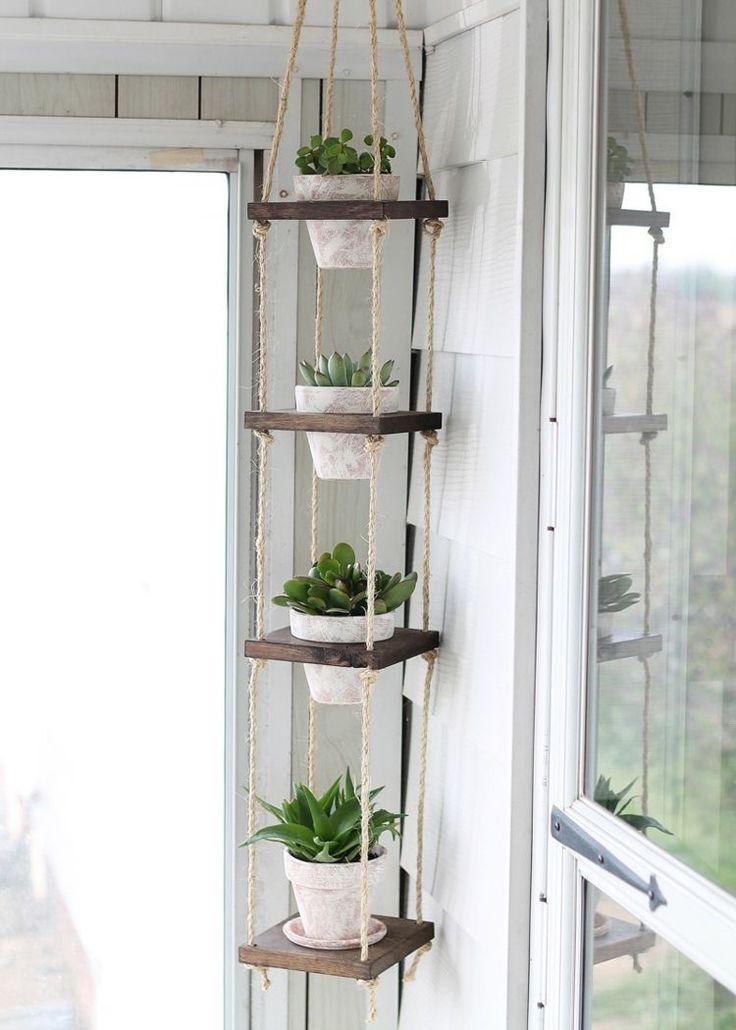 porte plantes -suspension-pots-succulentes-idée-originale