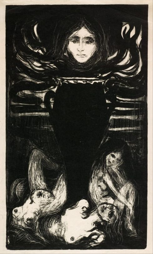 Edvard Munch    The Urn, 1896