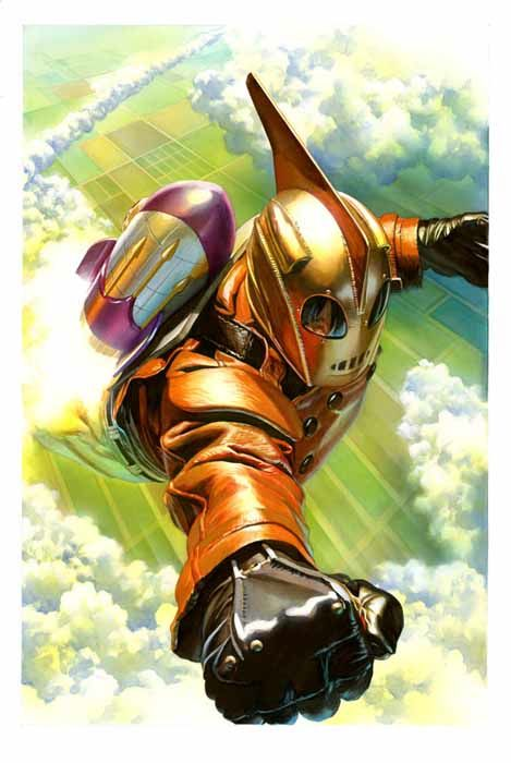 In The Mouth Of Dorkness: Comic Review: Rocketeer Adventures