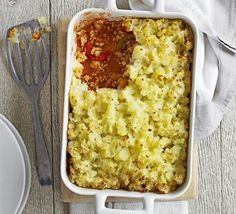 Spicy turkey & pepper bake - potatoes, butter, peppers, onion, turkey mince, chilli, smoked paprika, chicken stock