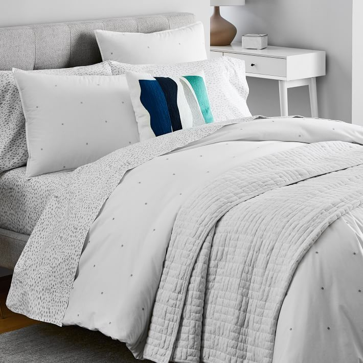 Sleep Serenely With The Subtle Texture Of Soft Cotton Sheets A