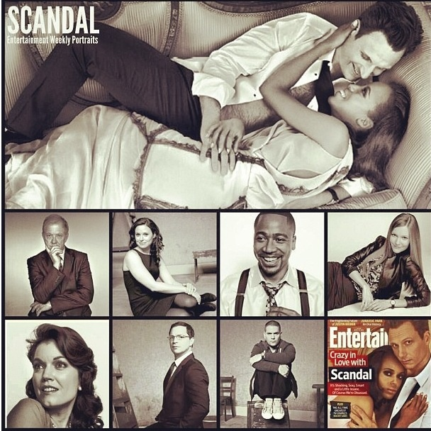 Scandal cast EW magazine