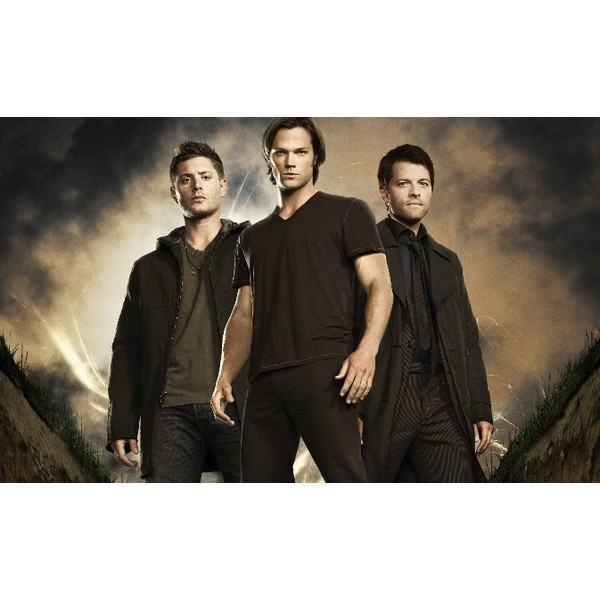 Supernatural TV Show - Sam & Dean Winchester ❤ liked on Polyvore