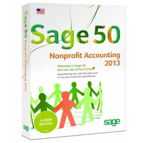 Sage 50 Premium Accounting for Non-Profits 2013 5-Users [Old Version]  http://www.bestcheapsoftware.com/sage-50-premium-accounting-for-non-profits-2013-5-users-old-version/