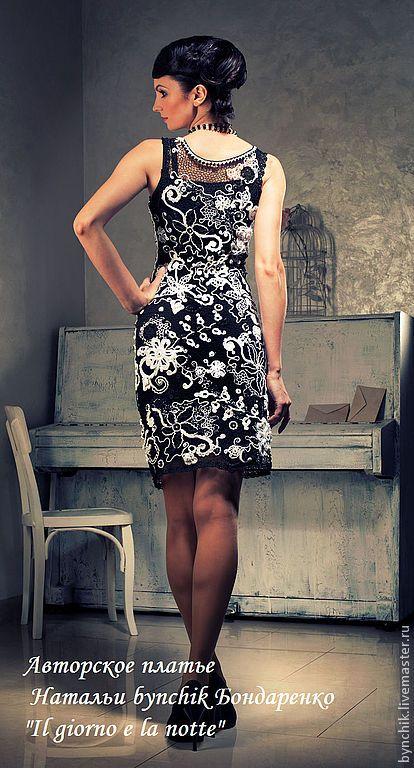 Авторское платье крючком. Ирландское кружево. #Irish_crochet_dress