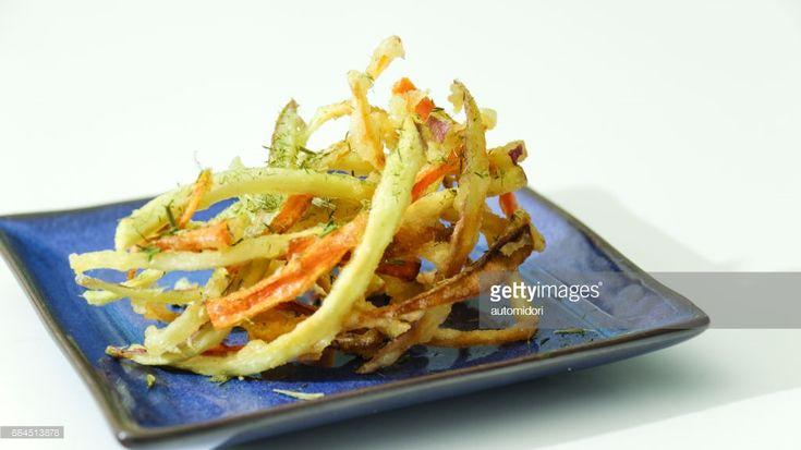 ストックフォト : Kakiage: Vegetable Tempura