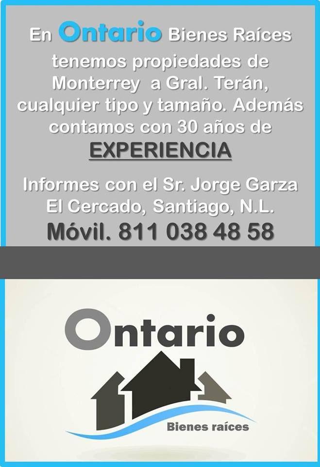 Compra y Venta de Terrenos desde el Sur de Monterrey hasta General Teran https://www.facebook.com/quintasyterrenos