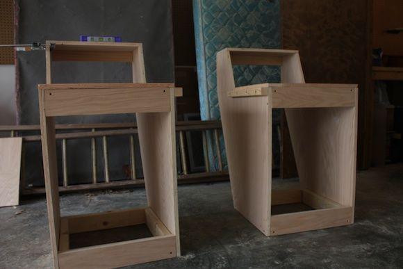 16 best images about studio desks on pinterest bird. Black Bedroom Furniture Sets. Home Design Ideas