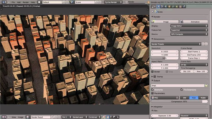 How to Create a City in Blender Andrew Price 1:02:48
