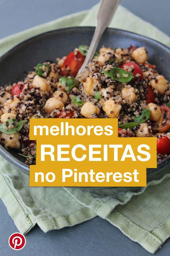 Descubra o novo perfil do Pinterest Brasil, que reune receitas deliciosas e brasileiras!