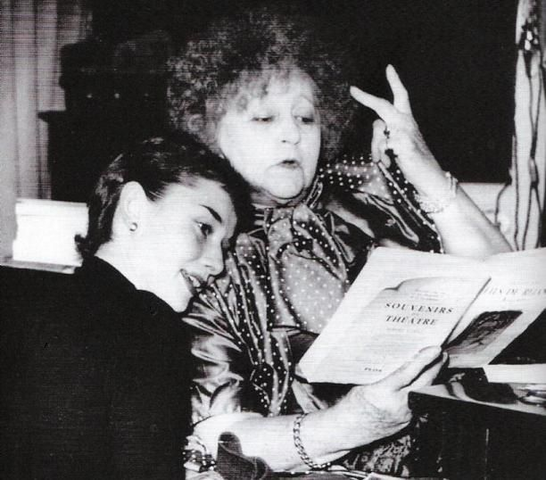 Audrey and Colette, probably my two favourite people on earth.