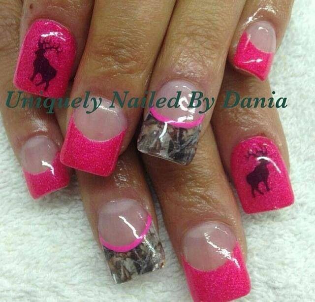 Country Girl Nail Art: Country Nails, Camo Nails, Nails