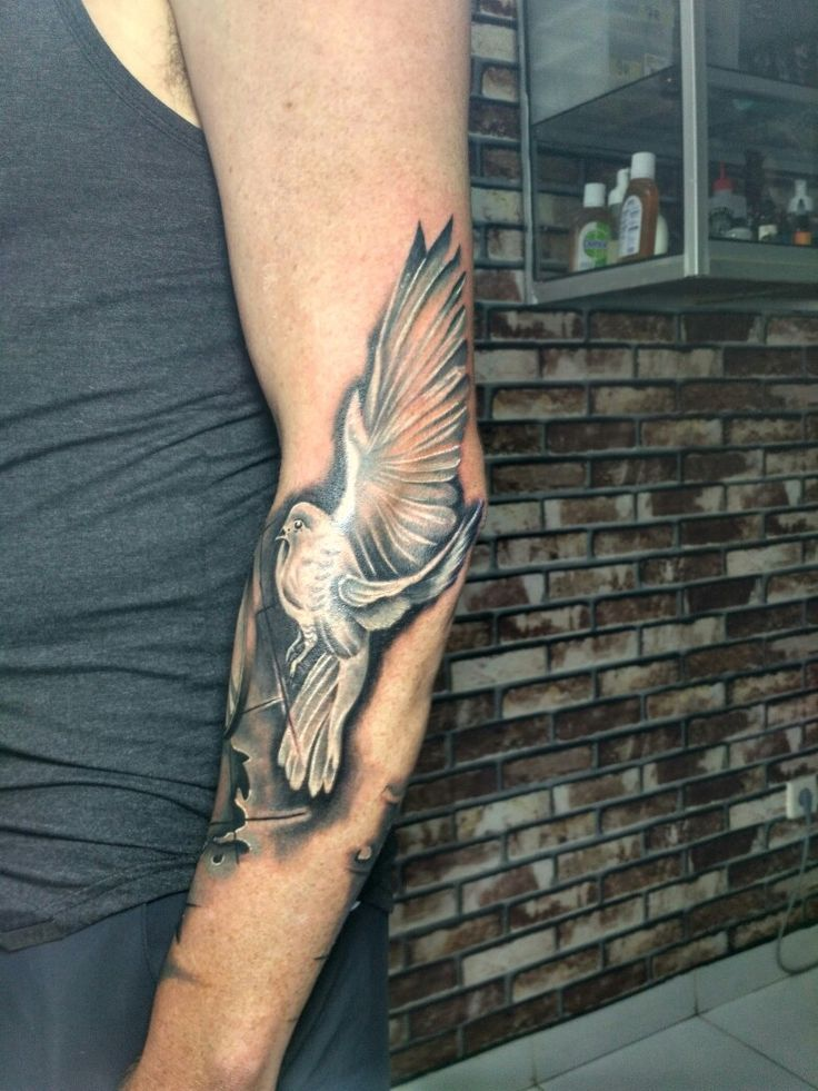 day art tattoo#dove#indonesiasubculrure#bali#