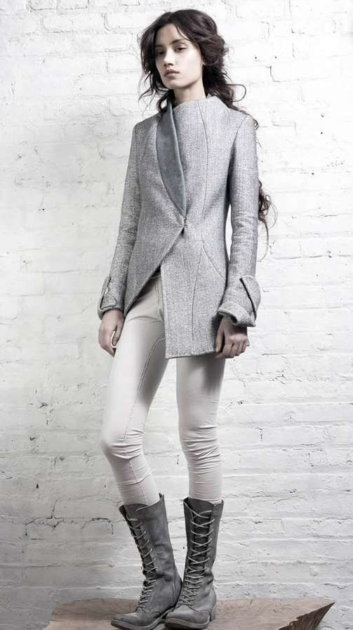 beautiful jacket, from the 2011  autumn collection of InAisce.
