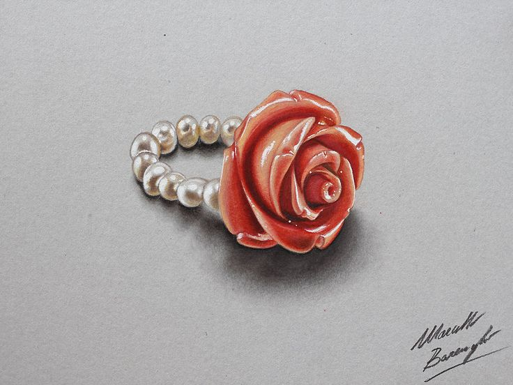 Rose ring by marcellobarenghi.deviantart.com on @deviantART