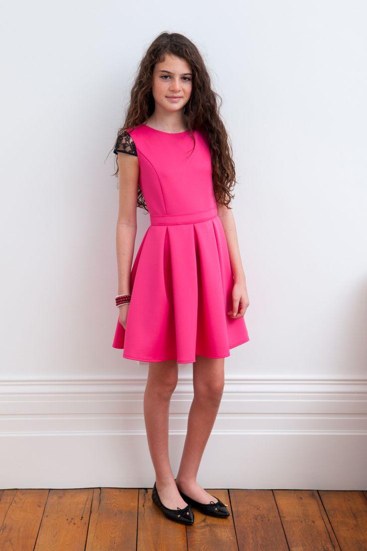 58 best vestidos de niñas images on Pinterest   Kids fashion ...