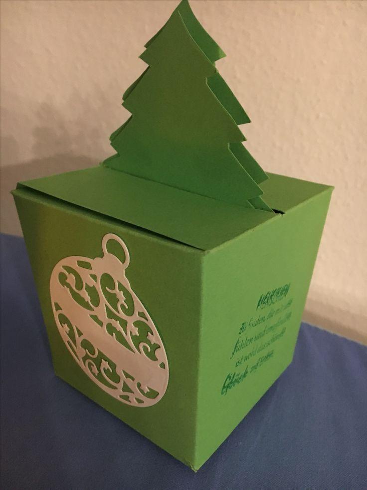Ein kleines #Mitbringsel-Faltbox-Weihnachten#
