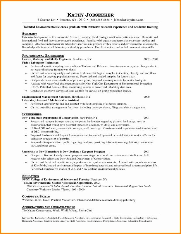 Resume For Laboratory Technician Awesome Lab Technician Resume Professional Resume Samples Assistant Jobs Resume Examples