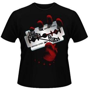 Men's Judas Priest British Steel T-Shirt (Black)