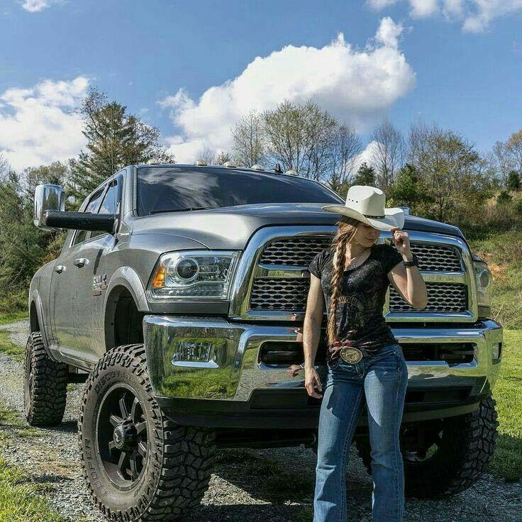 Ram 2500 Lifted >> Dodge Ram & Country Girl | Trucks and girls, Dodge diesel
