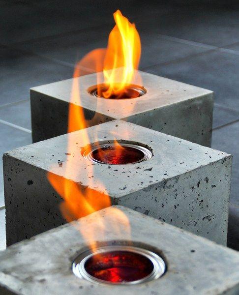 cubos de fuego, con lata de etanol. fire-cube+feuer-würfel++von+bTOM&son+bTOM&lale+auf+DaWanda.com