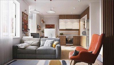 Amenajari interioare pentru apartamente mici - 4 garsoniere care imbina elementele de design, practicul si utilul intr-un mod uimitor.