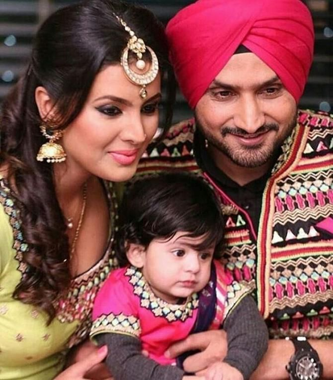 5 Adorable Moments Of Harbhajan Singh And Geeta Basra That Prove They Were Meant To Be Together Celebrity Weddings To My Daughter Celebrity Moms