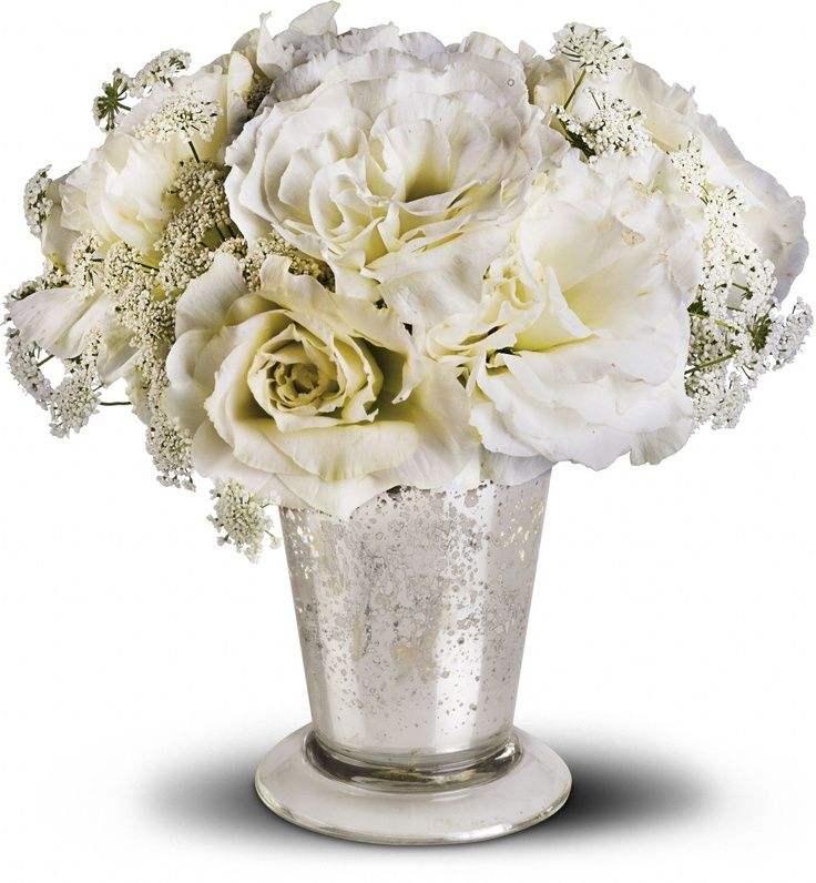 50th anniversary centerpieces teleflora 39 s angel centerpiece 50th anniversary floral ideas. Black Bedroom Furniture Sets. Home Design Ideas