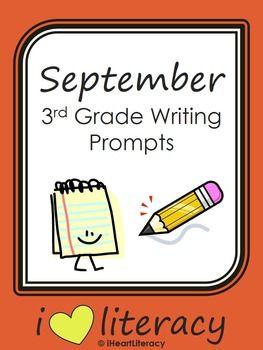 6th grade writing assignment ideas for 3rd grade