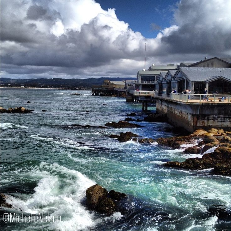 Cannery Row, Monterey, California. Taken from the Monterey Bay Aquarium.
