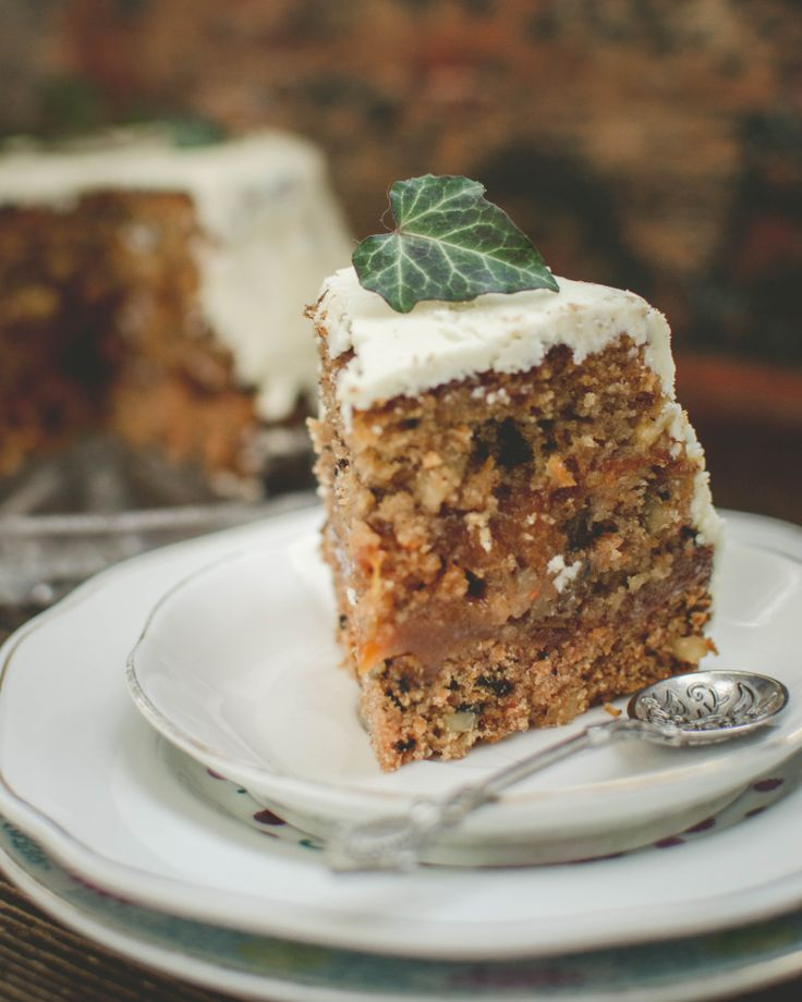 Slice of Carrot Cake AruaPetrascu