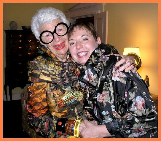 Iris Apfel Jewelry | apfel wearing her hanna bernhard toucan pin iris apfel for hsn jewelry ...