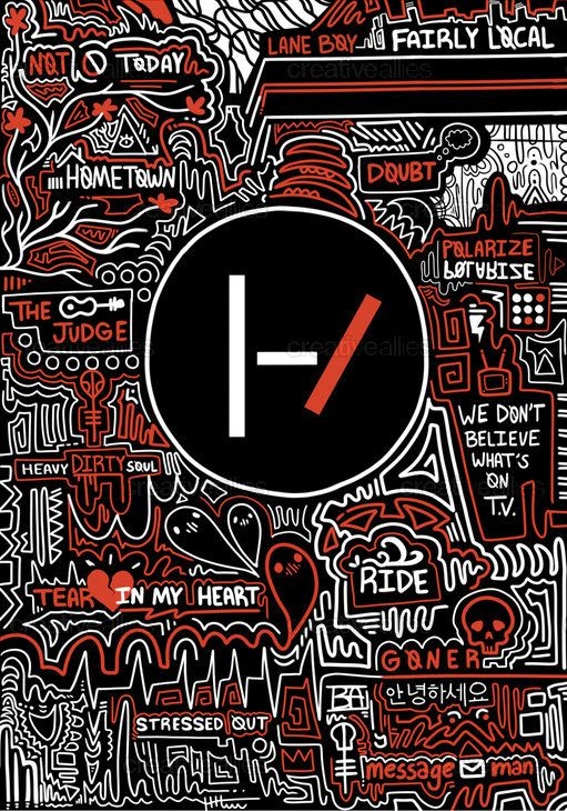 TWENTY+ONE+PILOTS+Poster+by+Bailey+on+CreativeAllies.com
