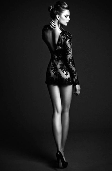 not the clothing, but the pose. strength and softness. ethereal in some ways. solid in others....