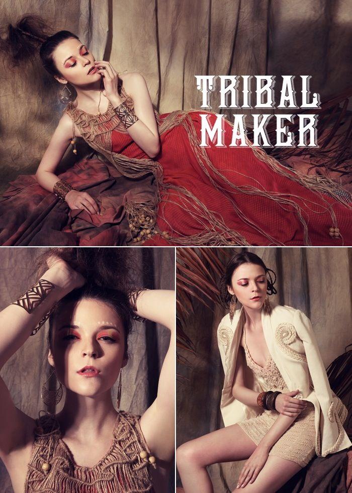 Tribal Maker Model: Bruna E - upfront model management Photographer: Nino Yap - www.ninoyap.com Fashion Stylist: Checilia Asst Photographer: Margaretna MUA: vdmakeup.tumblr.com