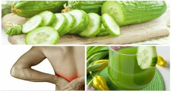 Try This Miraculous Cucumber Juice To Remove Stones In The Kidneys!