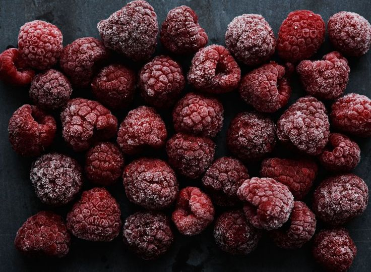 When most people think of raspberries they think of the familiar dusty red colour but there are less common varieties ranging from yellow to almost black.Each berry is made up of around a hundred tiny individual fruits -called 'drupelets'- each with  its own seed.